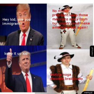 Za prezydentury Trumpa