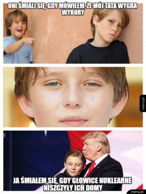 Barron Trump revenge