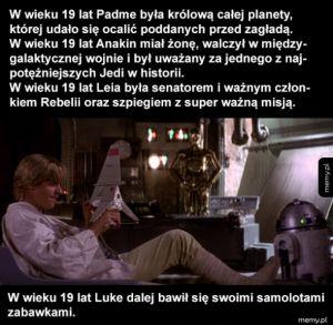 Tymczasem Luke Skywalker