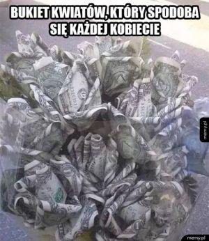 Wymarzony bukiet kwiatów