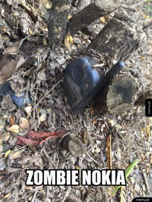 The walking nokia