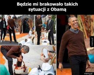 Żegnaj pan Obama